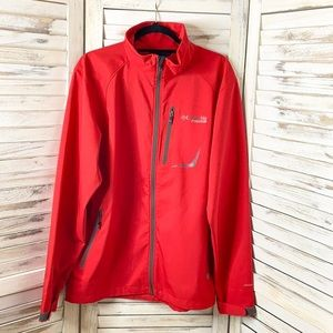 COLUMBIA | Men's Titanium Sawyers Creek Red Jacket